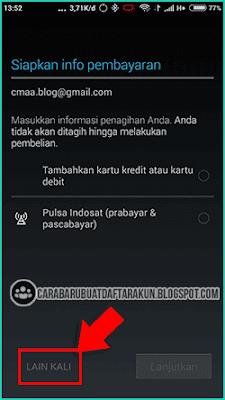 daftar google gmail di android