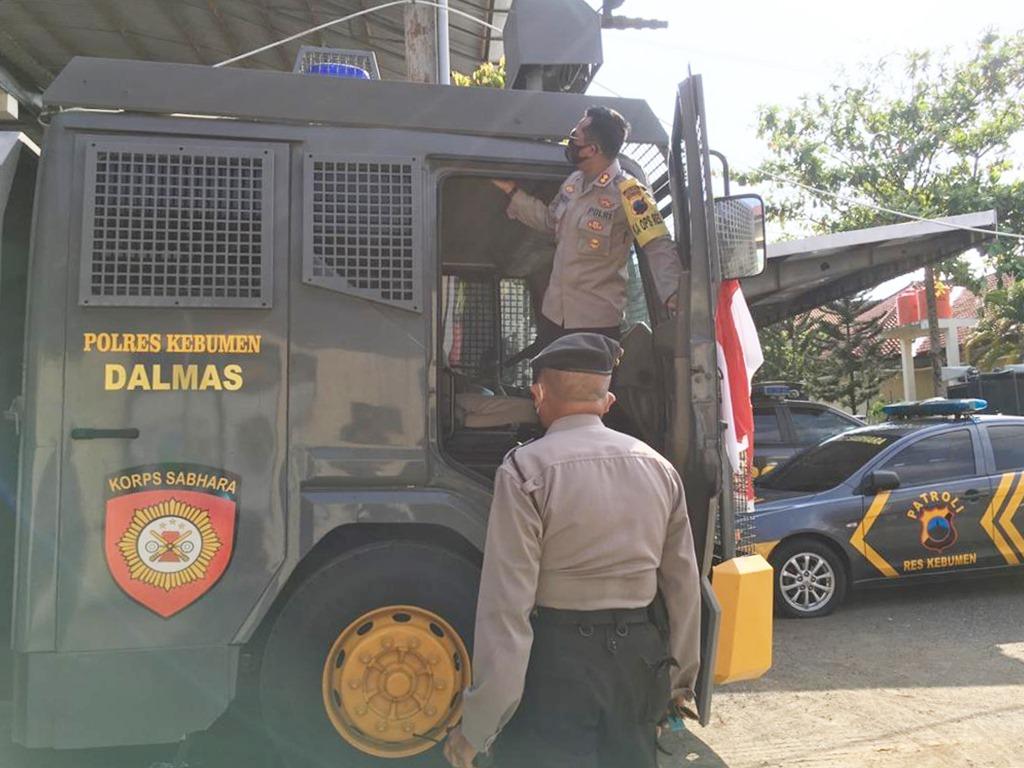 Mobil AWC Polres Kebumen, Kendaraan Polri yang Dinantikan