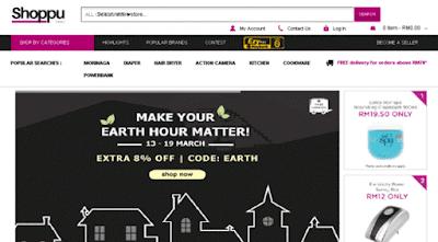 Cara Beli Online di Shoppu Malaysia