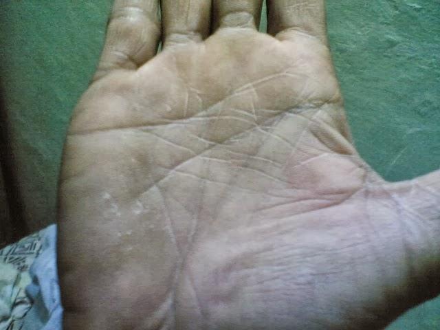 Rahu Lines Palmistry