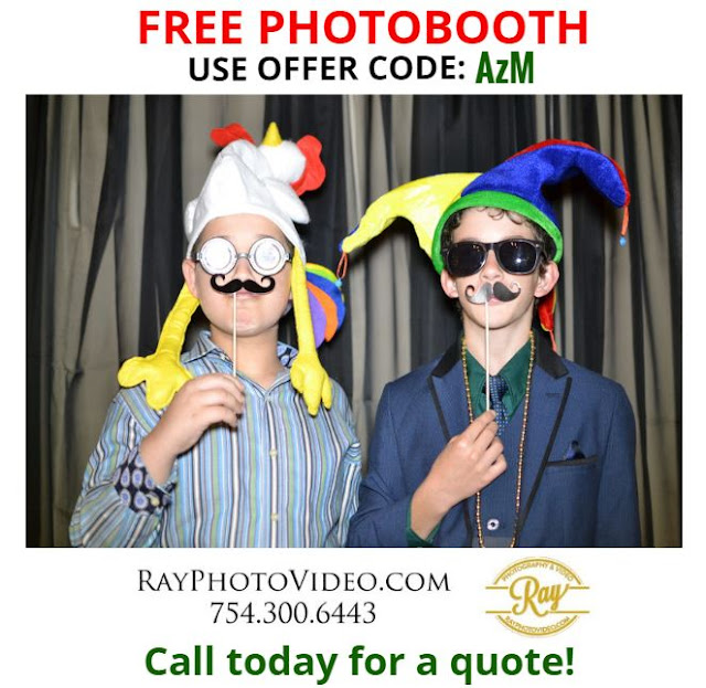 Call for quote and a free Photobooth OFFER CODE: AzM