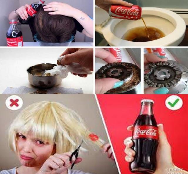 8 autres utilisations qui peuvent être données au Coca Cola sans nuire à la santé
