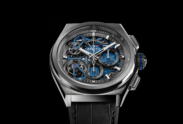 Zenith Defy Double Tourbillon in Platinum