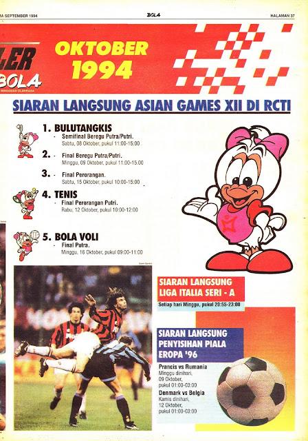 SPORTAKULER OKTOBER 1994
