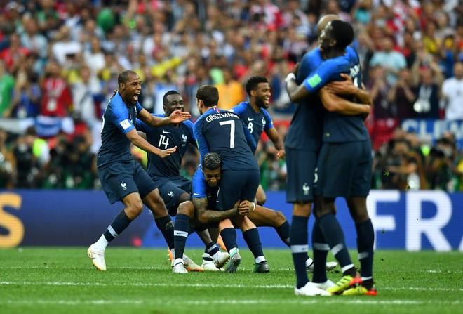 Francia obtuvo su segunda Copa del Mundo