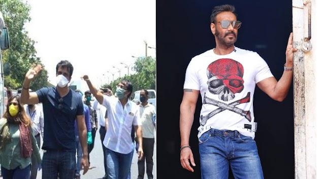 प्रवासी श्रमिक मजदूरों को उनके घर भेजने में सहायता करने पर अजय देवगन ने सोनू सूद के लिए कही ये बात....