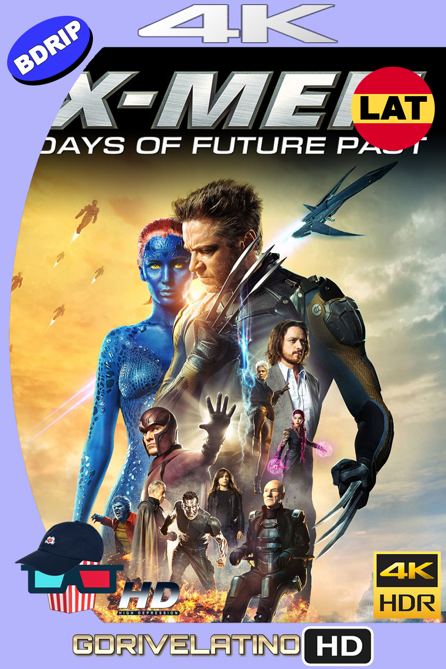X-Men : Días del Futuro Pasado (2014) THEATRICAL CUT BDRip 4K HDR Latino-Ingles MKV