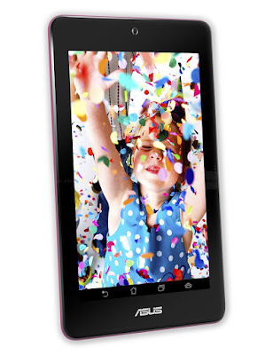 Asus Memo Pad HD7 16 GB Specifications - LAUNCH Announced 2013, June  Tablet with no support for GSM voice communication, SMS, and MMS This is not a GSM device, it will not work on any GSM network worldwide. DISPLAY Type IPS LCD capacitive touchscreen, 16M colors Size 7.0 inches (~59.9% screen-to-body ratio) Resolution 800 x 1280 pixels (~216 ppi pixel density) Multitouch Yes  - ASUS Waveshare UI BODY Dimensions 196.8 x 120.6 x 10.8 mm (7.75 x 4.75 x 0.43 in) Weight 302 g (10.65 oz) SIM No PLATFORM OS Android OS, v4.2 (Jelly Bean), upgradable to v4.2.2 (Jelly Bean) CPU Quad-core 1.2 GHz Cortex-A7 Chipset Mediatek MT8125 GPU PowerVR SGX544 MEMORY Card slot microSD, up to 32 GB (dedicated slot) Internal 16 GB, 1 GB RAM CAMERA Primary 5 MP, autofocus Secondary 1.2 MP, 720p Features Yes Video 1080p@30fps NETWORK Technology No cellular connectivity 2G bands N/A GPRS No EDGE No COMMS WLAN Wi-Fi 802.11 b/g/n, Wi-Fi Direct GPS Yes USB microUSB v2.0 Radio No Bluetooth v4.0 FEATURES Sensors Accelerometer, compass Messaging SMS(threaded view), MMS, Email, Push Mail, IM Browser HTML5, Adobe Flash Java No SOUND Alert types Vibration; MP3, WAV ringtones Loudspeaker Yes, with stereo speakers 3.5mm jack Yes BATTERY  Non-removable Li-Po battery (15 Wh) Stand-by  Talk time Up to 10 h (multimedia) Music play  MISC Colors Black, Gray, White, Pink, Green  - 16 GB One Year ASUS Webstorage Space - MP3/WAV/WMA/AAC player - MP4/H.264 player - Document viewer - Photo viewer/editor