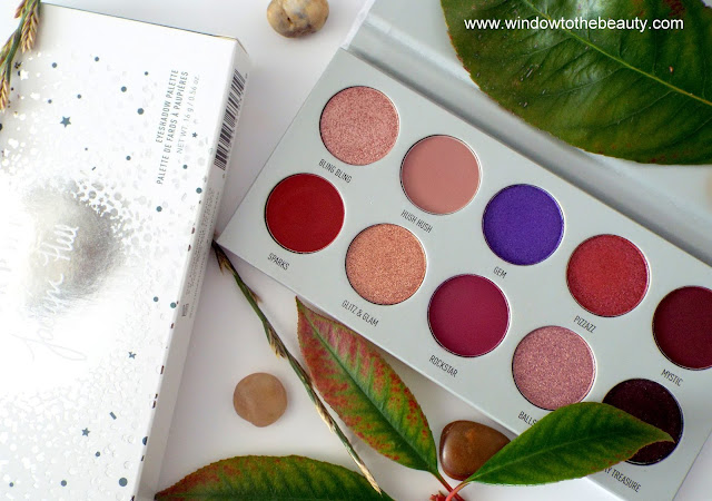 Morphe & Jaclyn Hill  purple palette