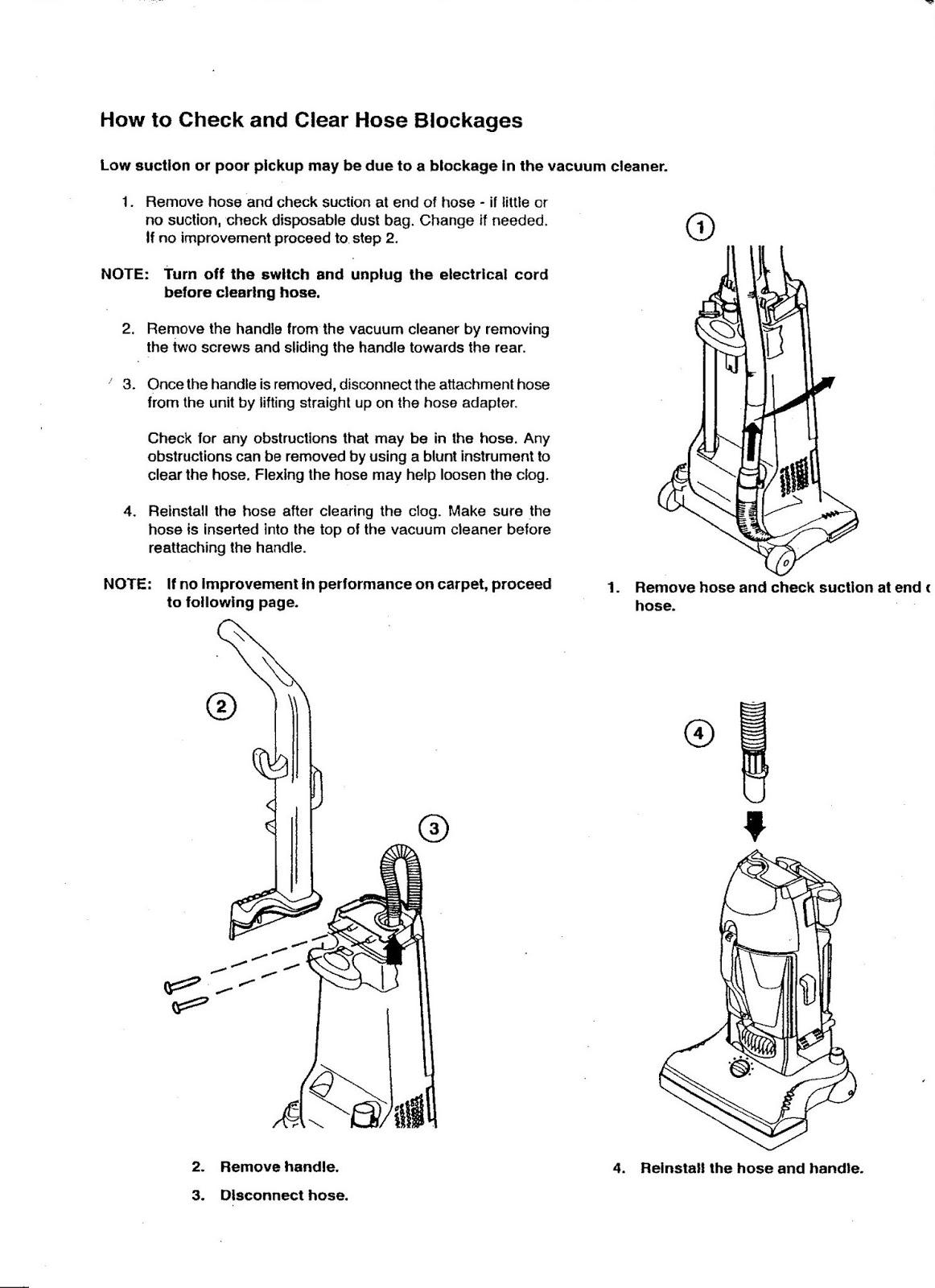 Electrolux 'The Boss' B4390 Instruction Manual