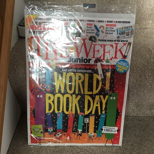 The Week magazine cover world book day