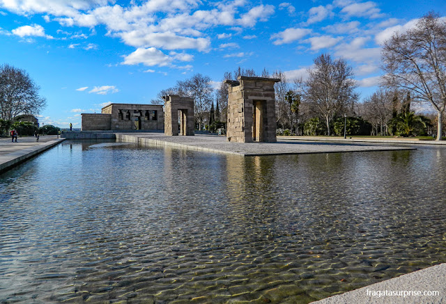 Madri, Templo de Debod