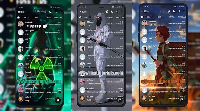 Kumpulan Tema WhatsApp Keren Terbaru 2021 by GBWA YOWA Fouad WA FMWA NSWA JTWA, GBWhatsApp, YOWhatsApp, Fouad WhatsApp, FMWhatsApp tampilan kece