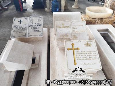 Makam Kristen Modern, Makam Perjamuan Kudus, Makam Marmer Kristen