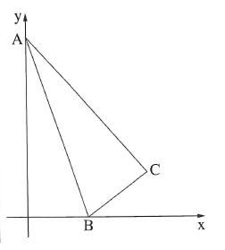 בגרות 3 יחידות לימוד מתמטיקה חורף 2020 , שאלה 4 - ישרים במערכת צירים