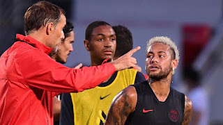 Chaos continues at PSG, with Neymar 'refusing to train after not being selected'