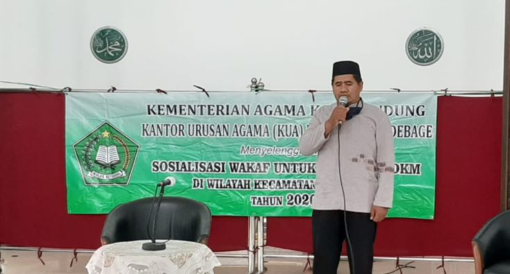 Masjid Abu Bakar Tuan Rumah Sosialisasi Wakaf Wilayah Kecamatan Gedebage