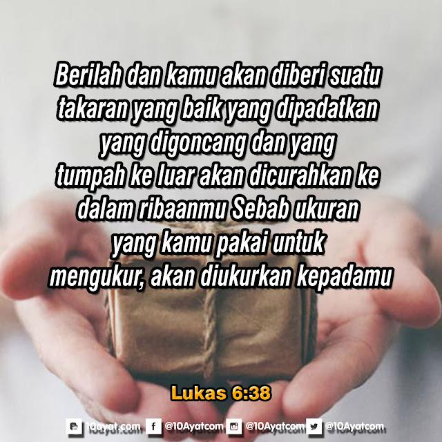 Lukas 6:38