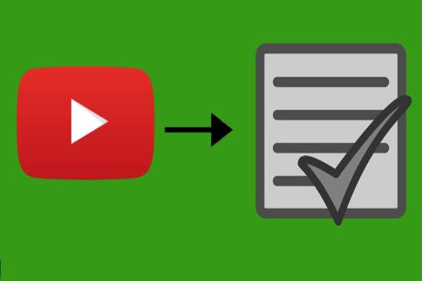 أداة جديدة لعرض ملخص كامل لمحتوى الفيديو في YouTube دون مشاهدته عن طريق تحويله إلى نص احترافي