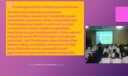 Metode Persidangan Sebagai Materi Latihan Dasar Kepemimpinan Calon Pengurus OSIS(Bag.1)