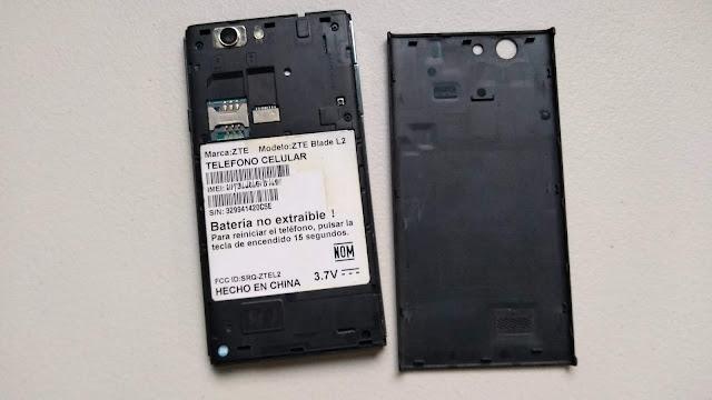 Flashear, instalar ROM original ZTE Blade L2 Telcel