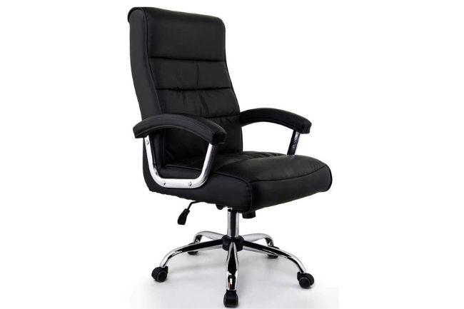 Cadeira Presidente Genebra Preta