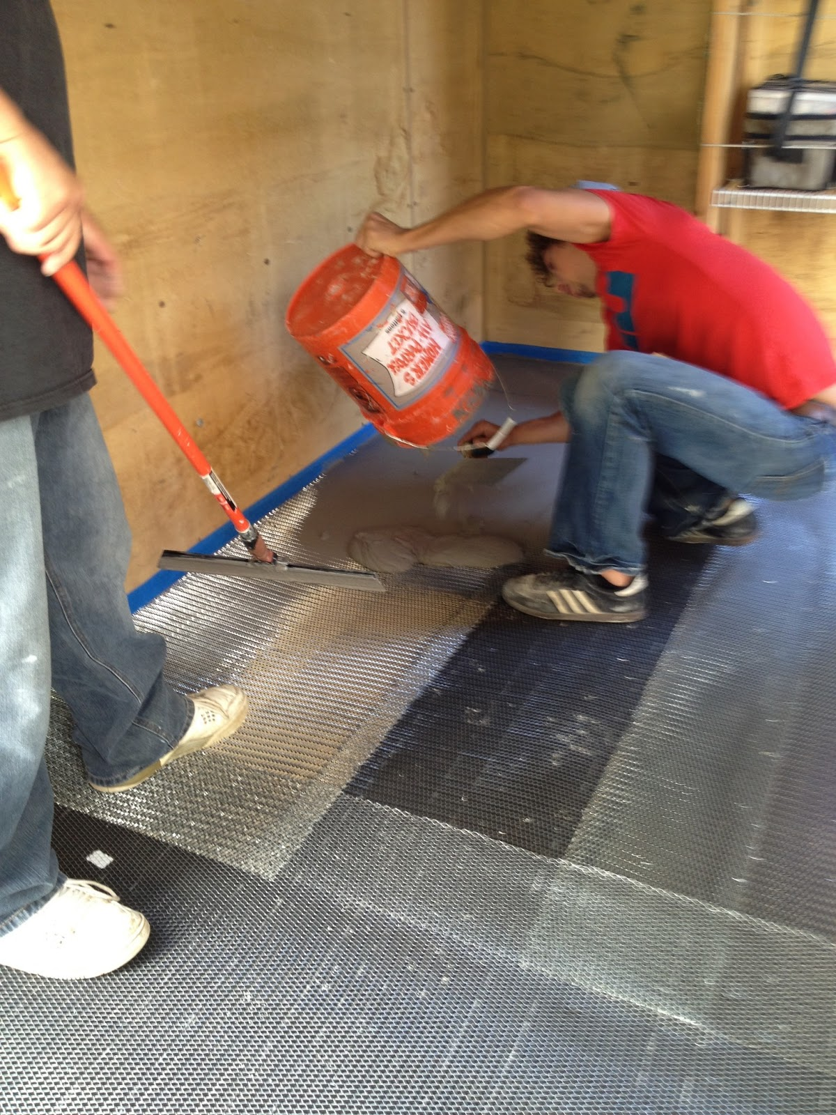 Epoxy Floors For Salem Oregon Trailers Amp Garages Fast Finish