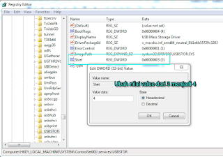 Edit Registery Editor