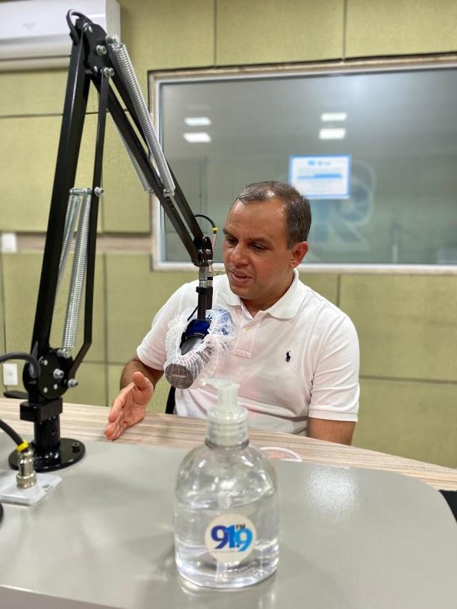 ALDO CLEMENTE GARANTE APOIO À ELEIÇÃO DE PAULINHO FREIRE