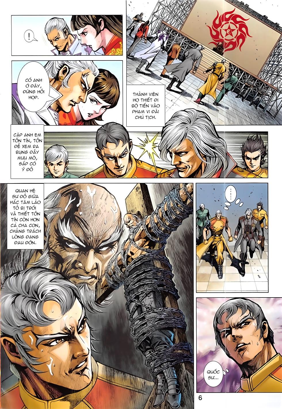 Tân Tác Long Hổ Môn Chap 837 page 6 - Truyentranhaz.net