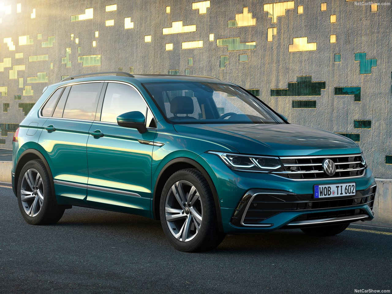 3 VW Tiguan Facelift Debuts With New R Variant Pumping Out 3 HP
