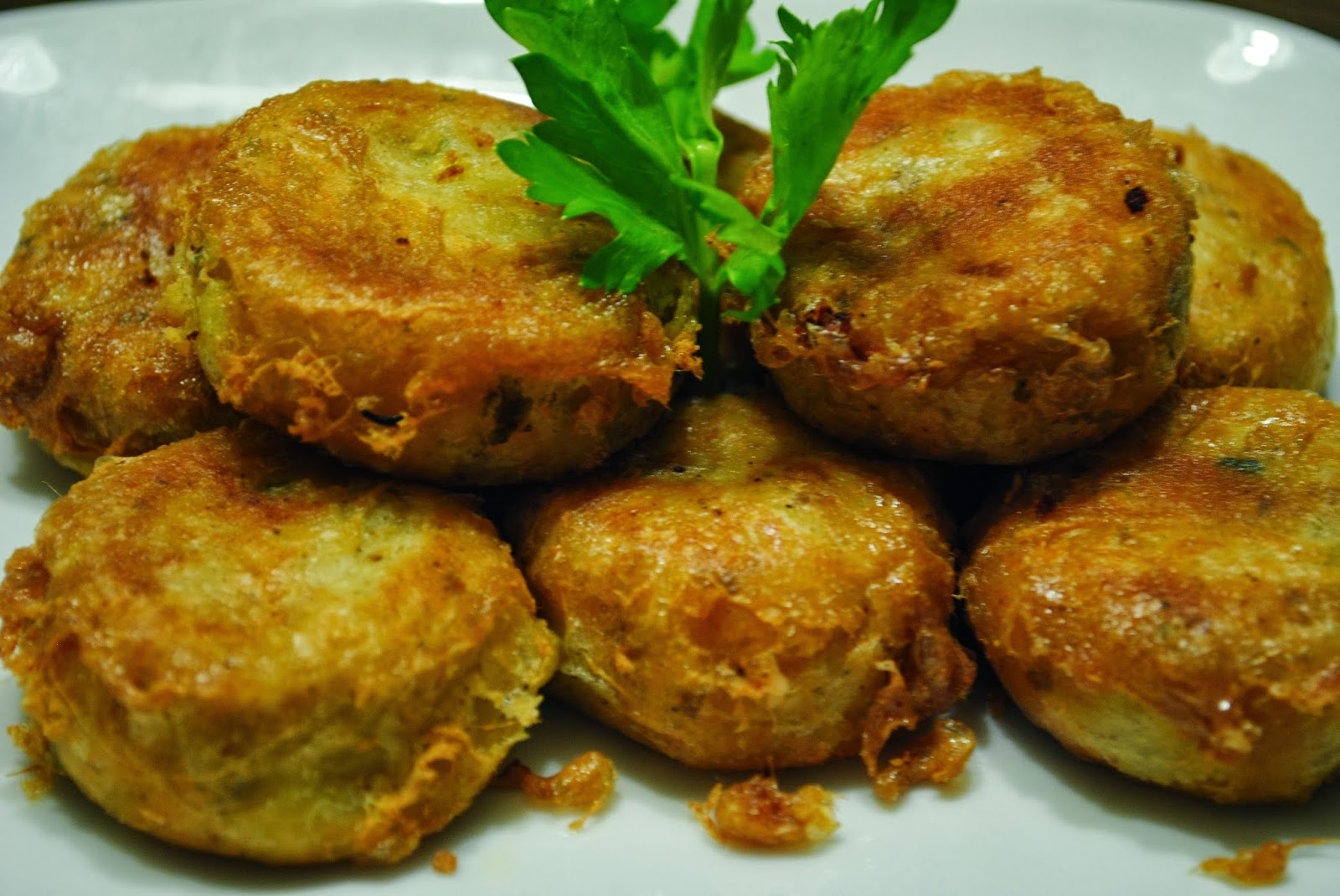 Resep Masakan Perkedel Kentang kombinasi daging empuk enak