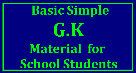 Basic Simple General Knowledge Questions and Answers for school students Simple general knowledge quizzes with questions, answers & facts for kids, teenagers, students and small children. Answer to these general knowledge quiz for kids are given below | simple gk questions for class 1 to 5 | gk questions for school children | easy gk questions | g.k. questions for class 1 to 5 | gk questions and answers for class 1 to 5 | gk questions for class 1 to 8 with answers general knowledge for school studentsBasic general knowledge questions that you should know | Basic general knowledge questions that Class 1 kids should know | GK QUIZ FOR PRE PRIMARY KIDS | Kids General Knowledge Quiz/2017/11/basic-simple-GK-general-knowledge-questions-and-answers-for-primary-school-students-in-telugu-pdf-download.html