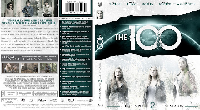 Capa Bluray The 100 Segunda Temporada Completa