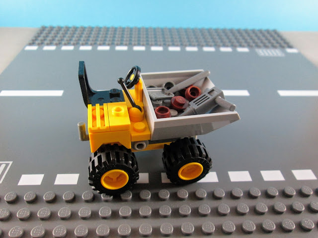 MOD do set LEGO City 30348 Mini Dumper