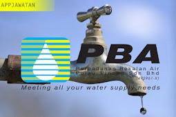 Jawatan Kosong di Perbadanan Bekalan Air Pulau Pinang - 25 Februari 2019