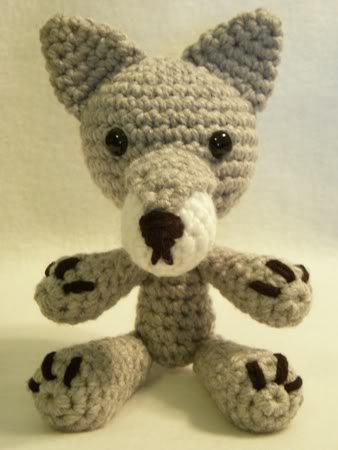 Chief, crochet wolf pattern | Son's Popkes | 450x338