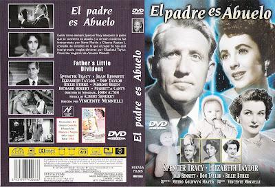 Carátula dvd: El padre es abuelo