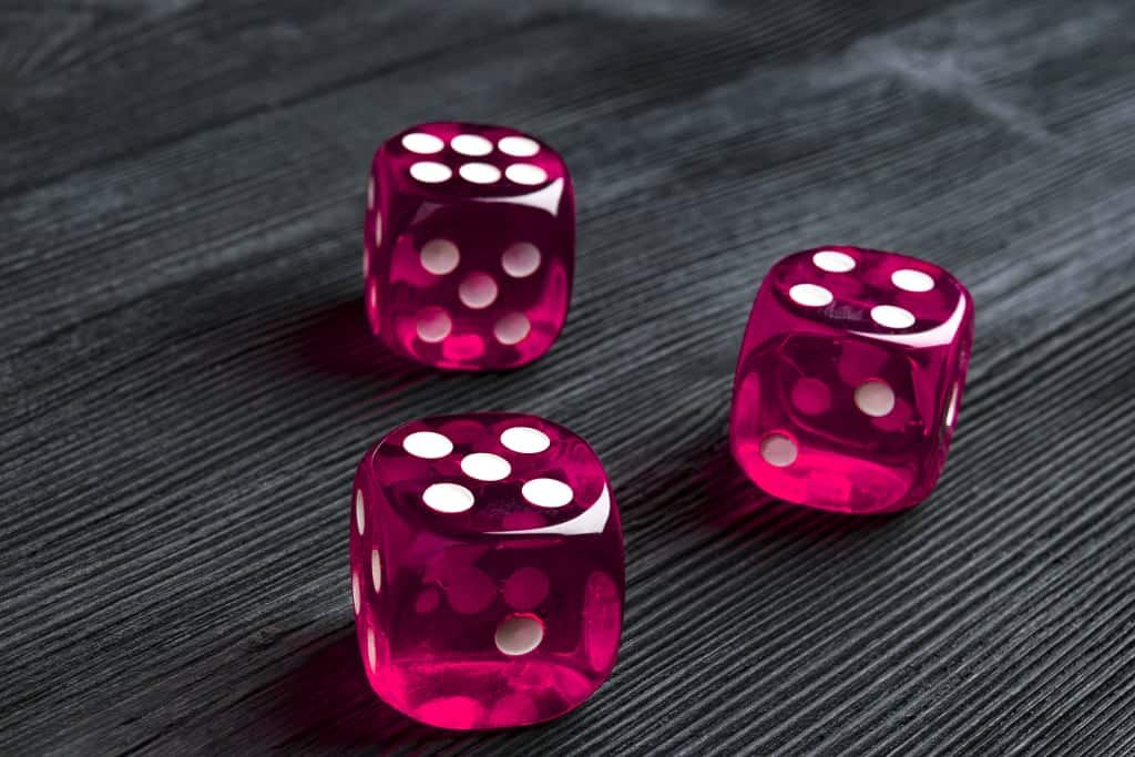 Dados suerte tarot