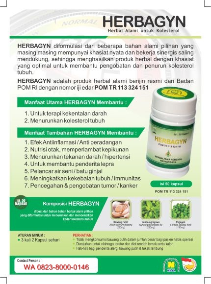produk nasa untuk kolesterol dan darah tinggi