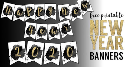 new years eve 2020 printables