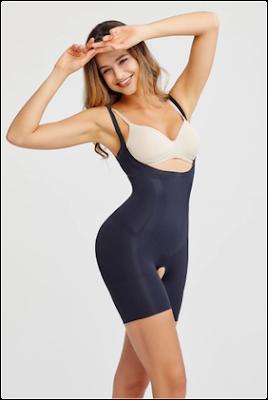 Lycra bodysuit shaper