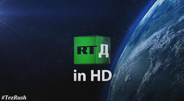 RT Documentary HD TV Channel Logo 2018 TezRush