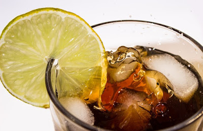 Soda with a Slice of Lemon