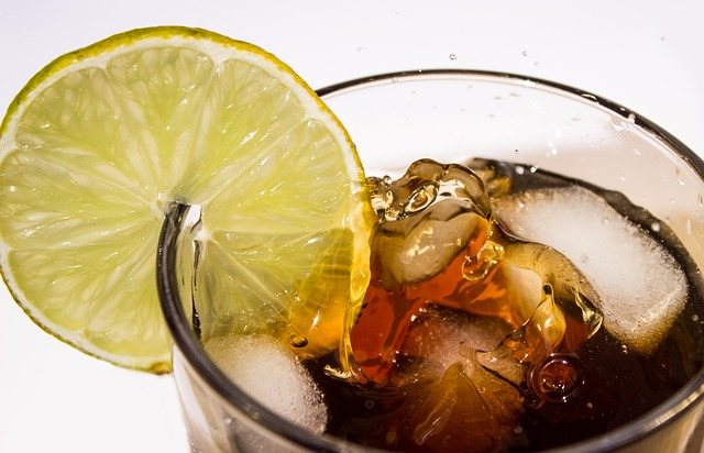Soda with a Slice of Lemon