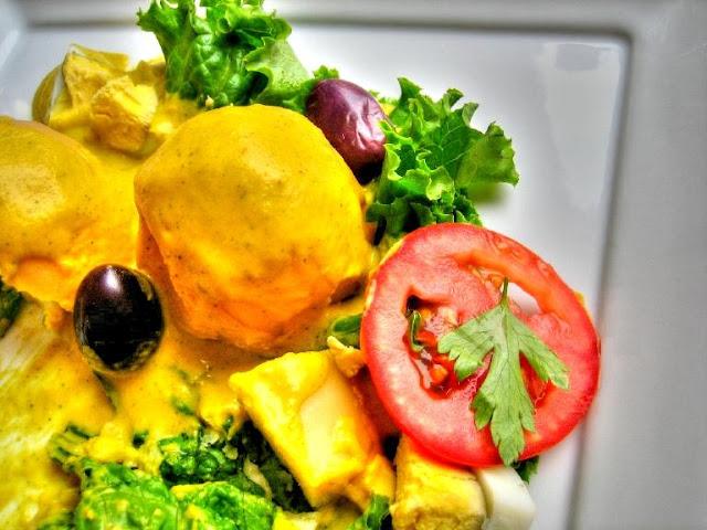 fotografía de la ocopa arequipeña receta peruana