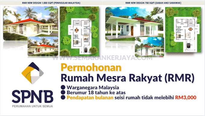 Rumah Mesra Rakyat SPNB: Permohonan Rumah Mesra Rakyat 2021 Online (SPNB) Kini Dibuka Semula