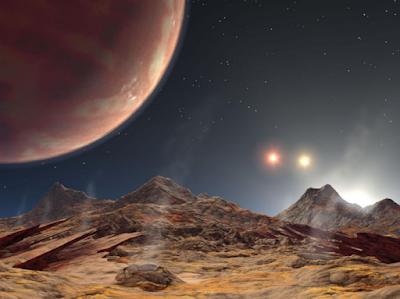Astronom Temukan Planet Baru dengan Tiga 'Matahari'