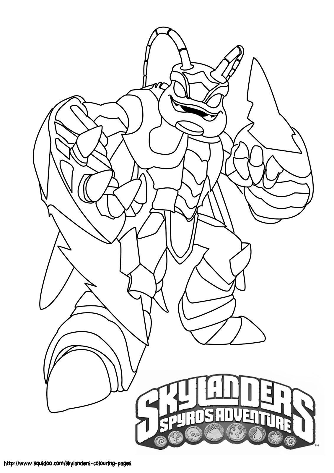 Best Skylanders Printable Coloring Pages Mason Website