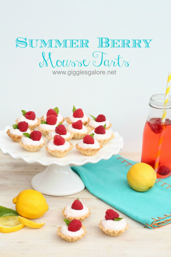 Summer Berry Mousse Tarts Giggles Galore 10 Pretty Pastries 27